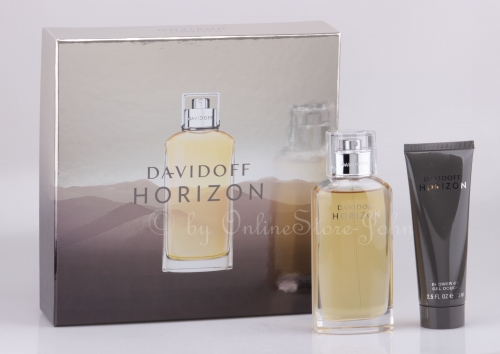 Davidoff - Horizon Set - 125ml EDT + 75ml Duschgel
