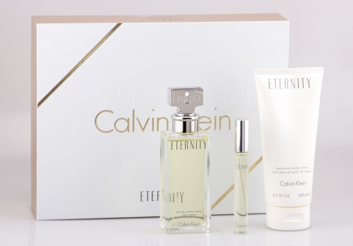 Calvin Klein - Eternity Woman Set - 100ml + 10ml EDP + 200ml Body Lotion