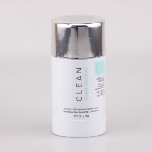Clean - Warm Cotton - 75g Deo Stick - Deodorant