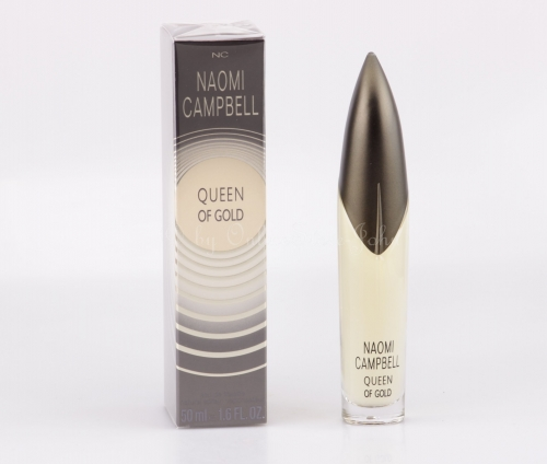 Naomi Campbell - Queen of Gold - 50ml EDT Eau de Toilette