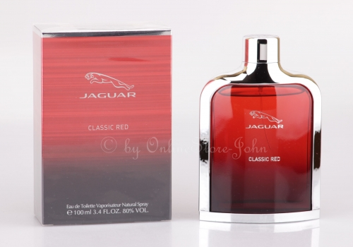 Jaguar - Classic Red - 100ml EDT Eau de Toilette