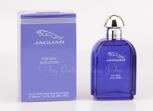 Jaguar - for Men Evolution - 100ml EDT Eau de Toilette