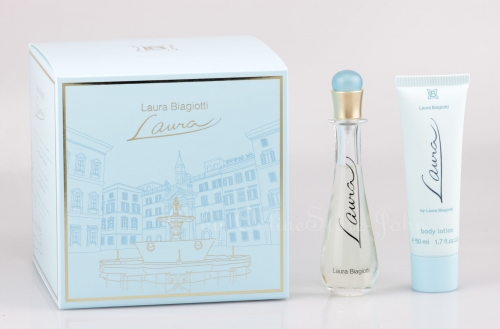 Laura Biagiotti - Laura Set - 25ml EDT + 50ml Bodylotion