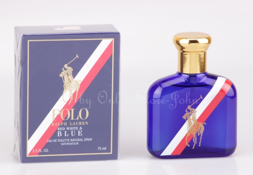 Ralph Lauren - Polo Red, White and Blue - 75ml EDT Eau de Toilette