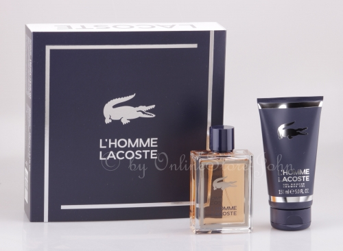 Lacoste - L'Homme Set - 100ml EDT + 150ml Shower Gel