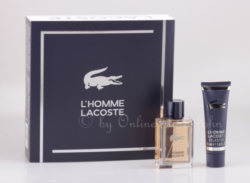 Lacoste - L'Homme Set - 50ml EDT + 50ml Shower Gel