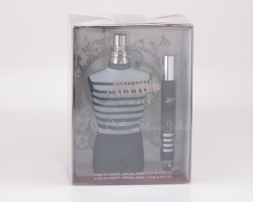 Jean Paul Gaultier - Le Male Travel Set - 125ml + 10ml EDT Eau de Toilette