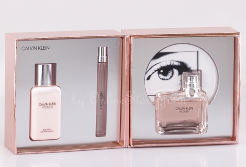Calvin Klein - Women Set - 100ml + 10ml EDP + 100ml Body Lotion
