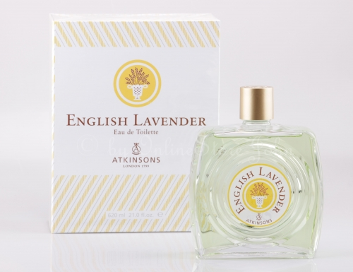 Atkinsons - English Lavender - 620ml EDT Eau de Toilette