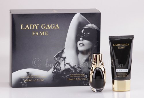 Lady Gaga - Fame - Black Fluid Set - 30ml EDP + 75ml Shower Gel