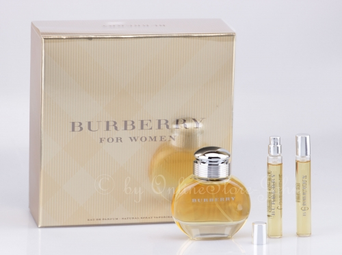 Burberry - For Women Set - 30ml + 2 x 7,5ml EDP Eau de Parfum