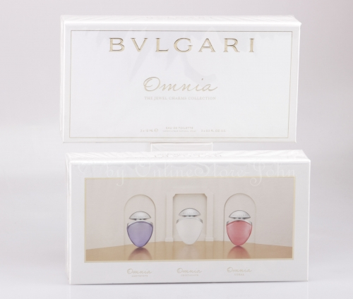 Bvlgari - Omnia - The Jewel Charms Collection - 3 x 15ml EDT Eau de Toilette