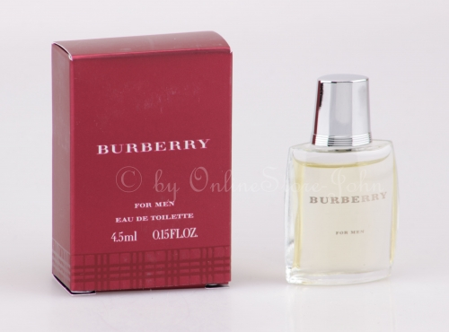 Burberry - for Men Classic Miniatur - 4,5ml EDT Eau de Toilette
