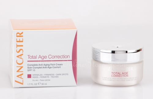 Lancaster - Total Age Correction - Complete Anti-Aging Rich Cream 50ml - SPF15