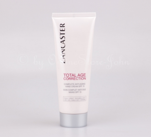 Lancaster - Total Age Correction - Complete Anti-Aging Hand Cream 75ml - SPF15