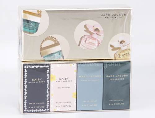Marc Jacobs - Miniatures Collection - 4 x 4ml Miniaturen Set