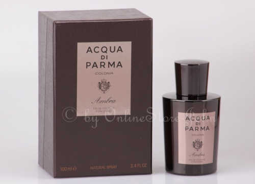 Acqua di Parma - Colonia Ambra - 100ml EDC - Eau de Cologne Concentree Spray