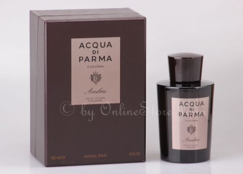 Acqua di Parma - Colonia Ambra - 180ml EDC - Eau de Cologne Concentree Spray