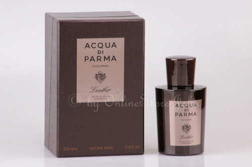 Acqua di Parma - Colonia Leather - 100ml EDC - Eau de Cologne Concentree Spray