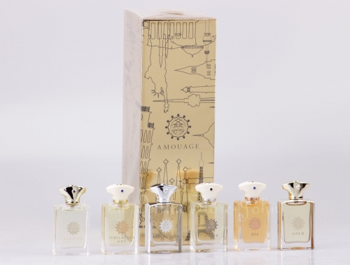 Amouage - Miniature Classic Collection for Man - 6 x 7,5ml EDP Eau de Parfum