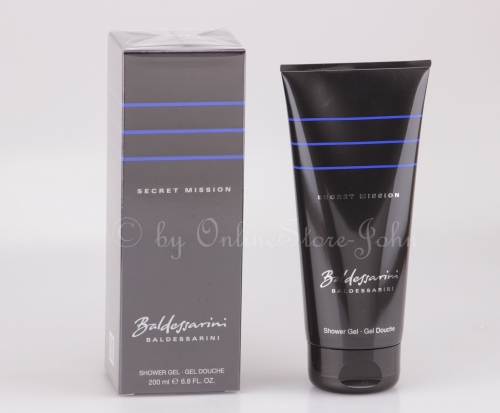 Baldessarini - Secret Mission - 200ml Shower Gel