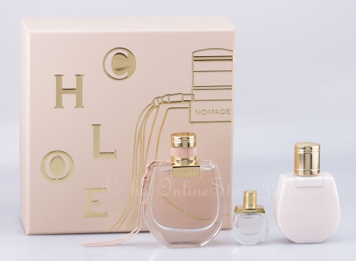 Chloe - Nomade Set - 75ml EDP + 5ml EDP + 100ml Body Lotion