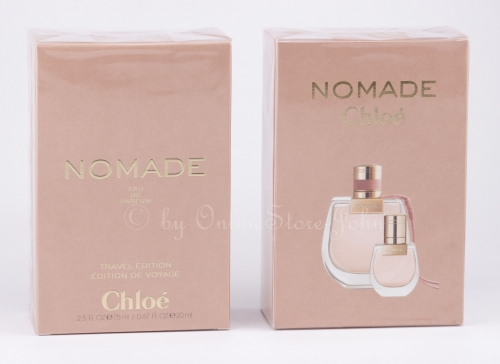 Chloe - Nomade Travel Set - 75ml + 20ml EDP Eau de Parfum