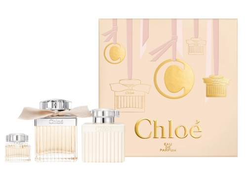 Chloe - Signature Geschenk-Set - 75ml EDP + 5ml EDP + 100ml Bodylotion