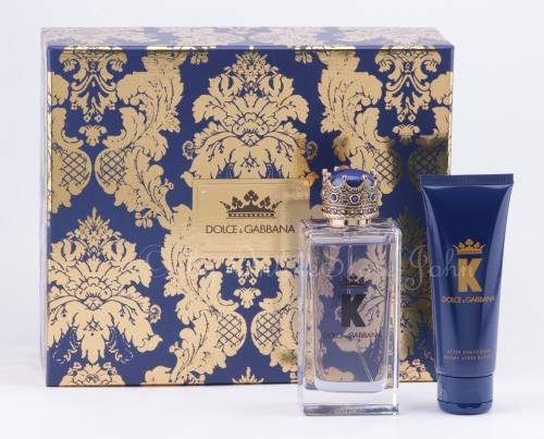 Dolce & Gabbana - K Set - 100ml EDT + 75ml After Shave Balm