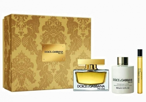 Dolce & Gabbana - The One Woman Set - 75ml + 10ml EDP + 100ml Body Lotion