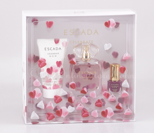 Escada - Celebrate N.O.W. Set - 50ml EDP + 50ml Body Lotion + 4,5ml Nail Polish