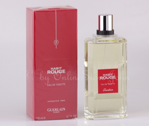 Guerlain - Habit Rouge - 200ml EDT  Eau de Toilette