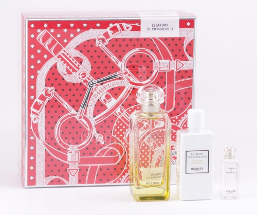 Hermes - Le Jardin de Monsieur Li Set - 100ml + 7,5ml EDT + 80ml Bodylotion