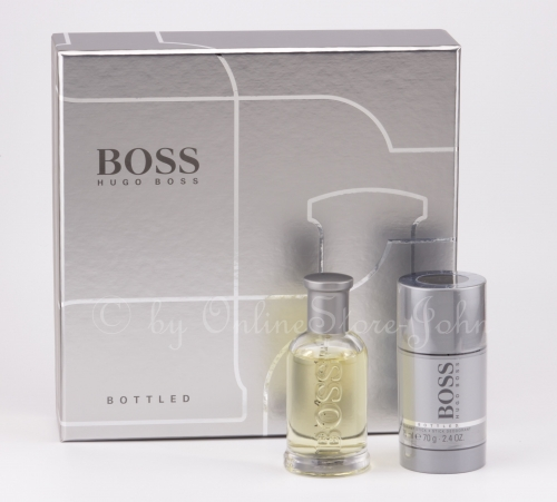 Hugo Boss - Bottled Set - 50ml EDT + 75ml Deodorant / Deo Stick