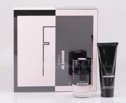 Jil Sander - Simply Eau Poudree Set - 40ml EDP + 75ml Body Cream