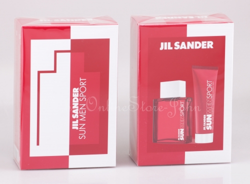 Jil Sander - Sun Men Sport Set - 75ml EDT + 75ml Showergel