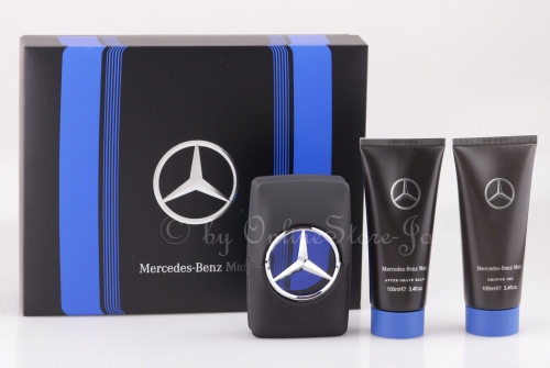 Mercedes-Benz - Man Blue Set - 100ml EDT + Shower Gel + After Shave
