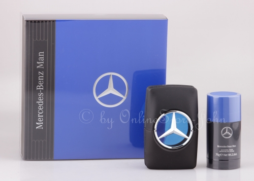 Mercedes-Benz - Man Blue Set - 50ml EDT + 75ml Deo Stick