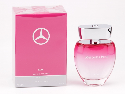 Mercedes-Benz - Rose for Women - 90ml EDT Eau de Toilette