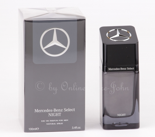 Mercedes-Benz - Select Night - 100ml EDP Eau de Parfum