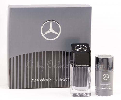 Mercedes-Benz - Select Set - 100ml EDT + 75ml Deo Stick