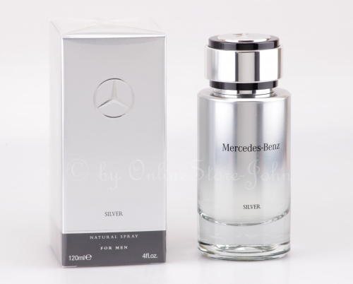Mercedes-Benz - Silver Man - 120ml EDT Eau de Toilette