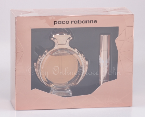 Paco Rabanne - Olympea Set - 80ml EDP + 10ml EDP Travel-Spray