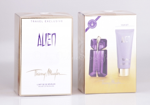Thierry Mugler - Alien Travel-Set - 60ml EDP + 100ml Body Lotion