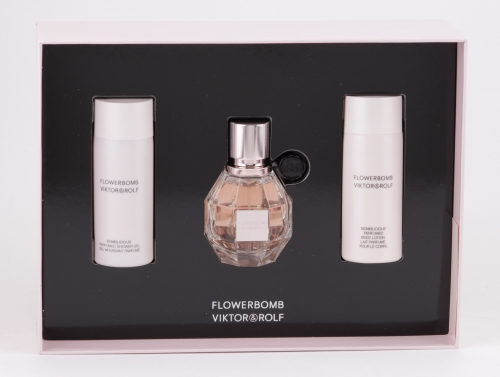 Viktor & Rolf - Flowerbomb Set - 30ml EDP + 50ml Body Lotion + Shower Gel
