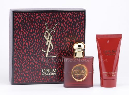 Yves Saint Laurent - Opium Set - 30ml EDT - 50ml Body Milk / Bodylotion