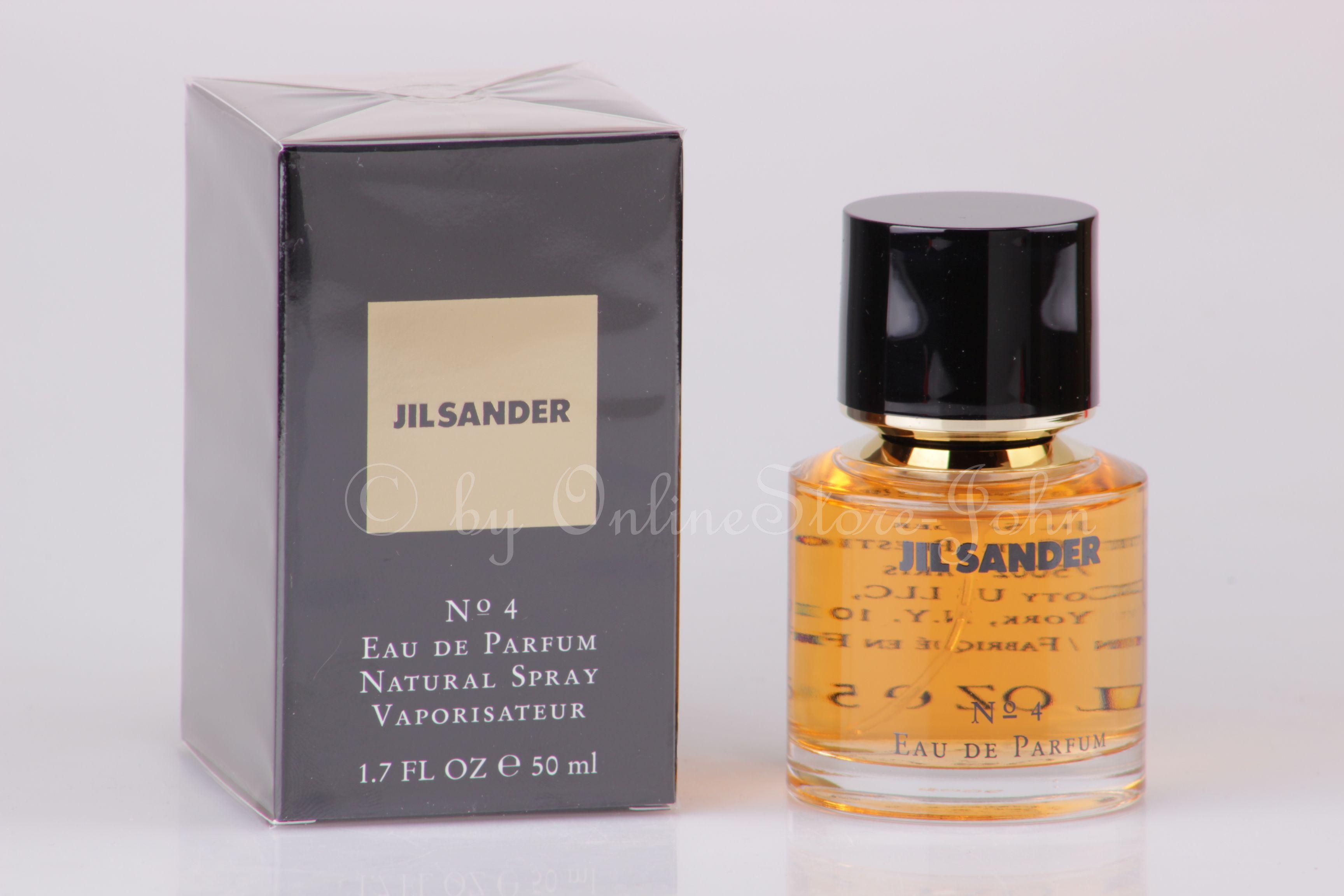 Jil Sander - No. 4 - 50ml EDP Eau de Parfum 64ff8722e269