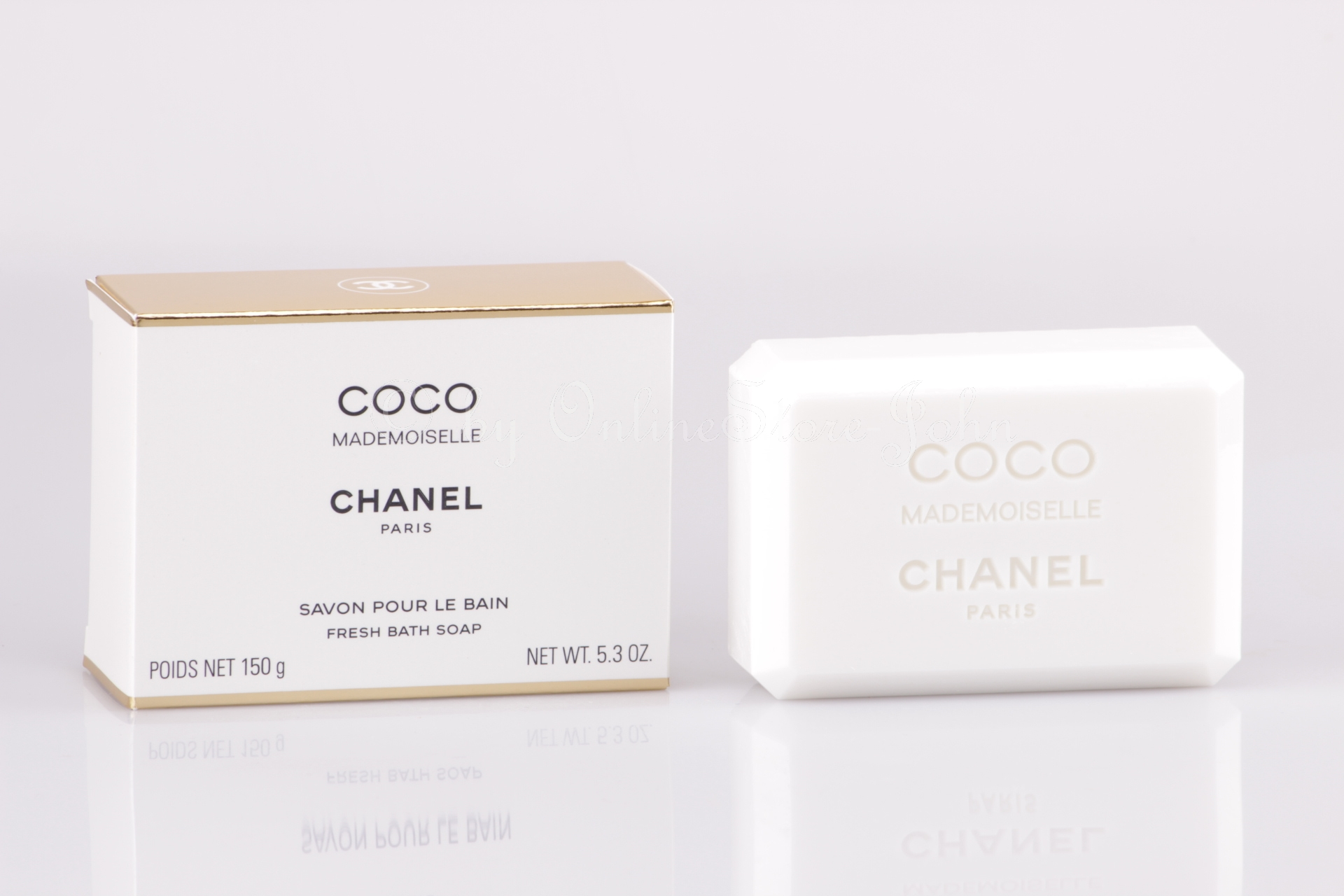 chanel coco mademoiselle 150g bath soap seife. Black Bedroom Furniture Sets. Home Design Ideas