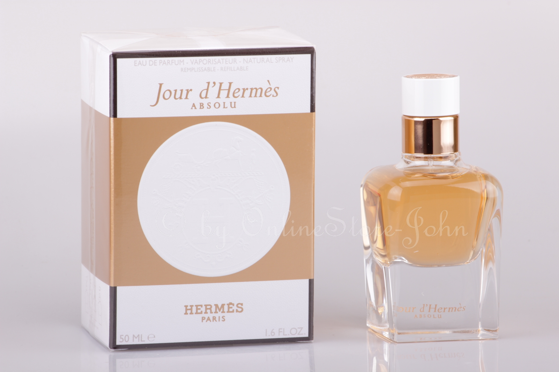 hermes jour d 39 hermes absolu 50ml eau de parfum. Black Bedroom Furniture Sets. Home Design Ideas