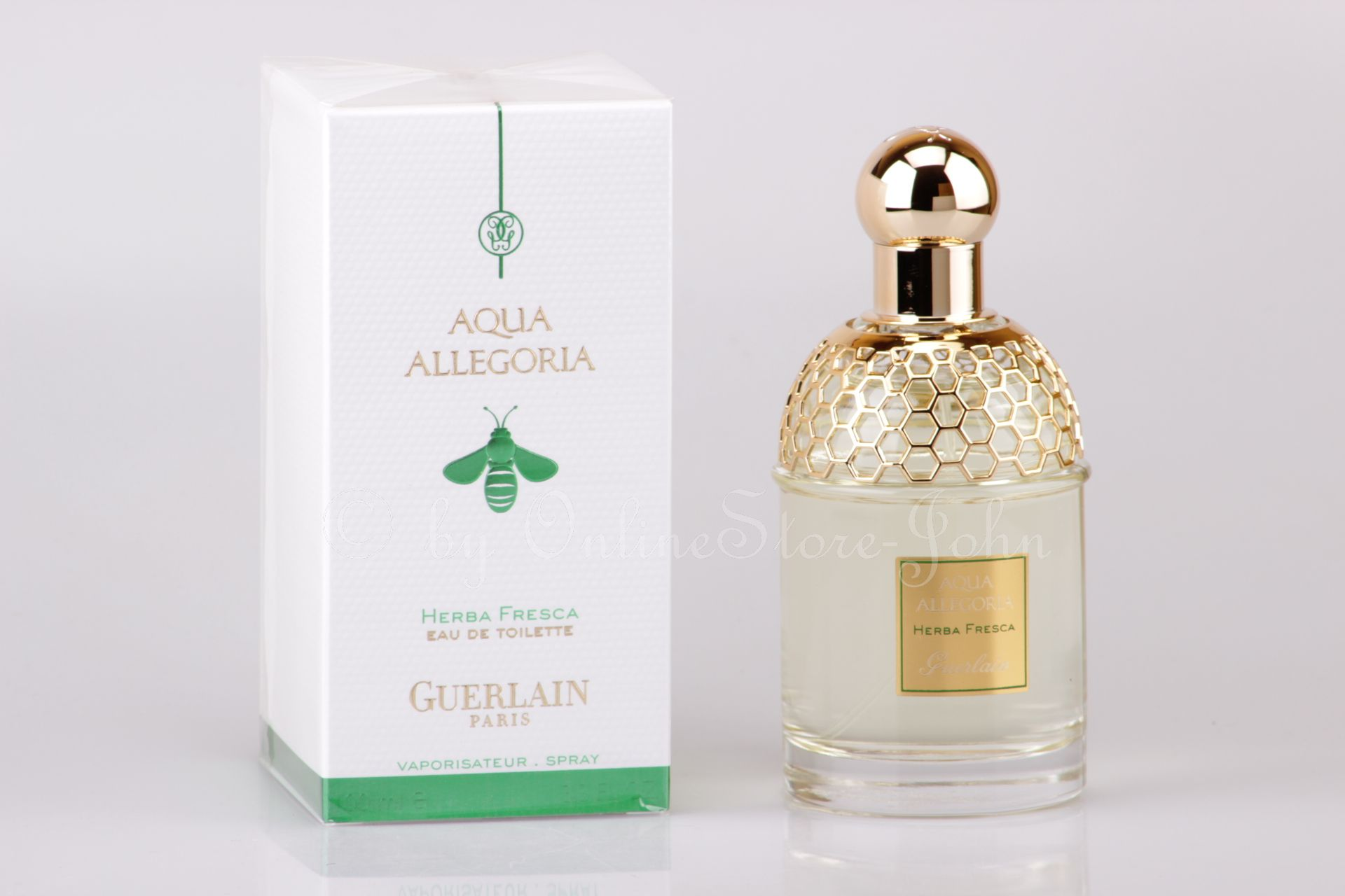 guerlain aqua allegoria herba fresca 100ml edt eau de toilette. Black Bedroom Furniture Sets. Home Design Ideas